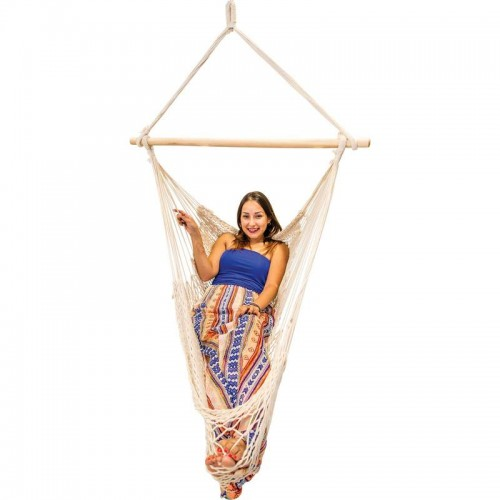 Club Fun Hammock Style Swing Chair with Weight Capacity of 265lbs