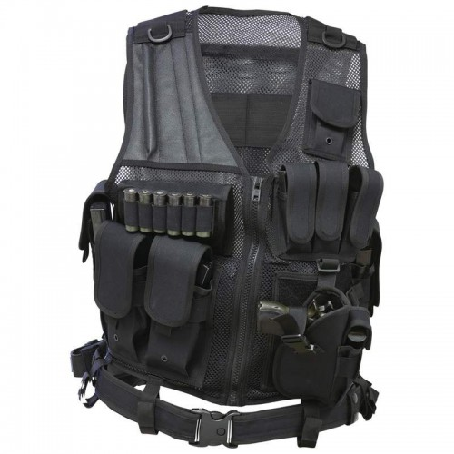 Classic Safari Tactical Vest and Belt
