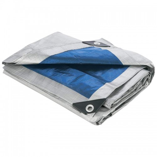 Maxam 40' x 50' Waterproof, Weather, UV Resistant Silver Exterior Tarp