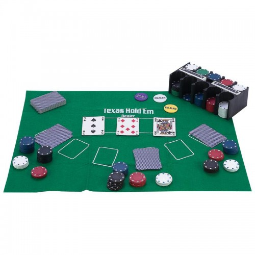 Maxam 208 PC Casino-Style Texas Hold 'Em Poker Set