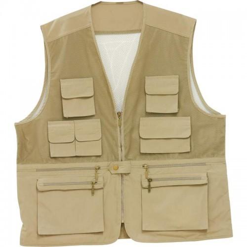 Classic Safari Lightweight Fishing/Sporting Vest - Size 2X