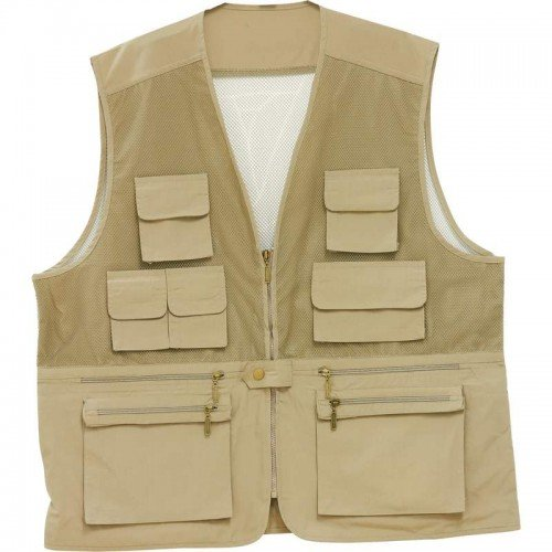 Lightweight Fishing/Sporting Vest with Breathable Mesh - Size 2X