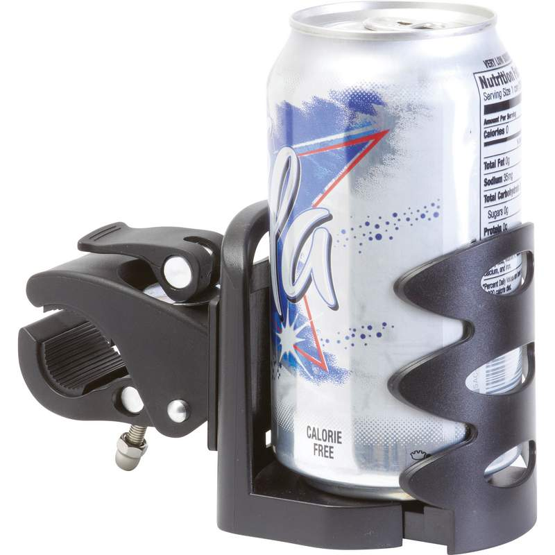 Quick Release Adjustable Drink Holder Features Rotating
