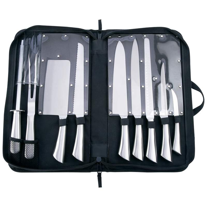 Slitzer 10 PC Professional Surgical Stainless Steel Cutlery Set