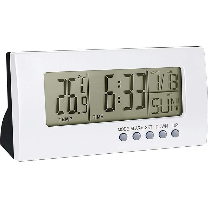 Mitaki Japan Digital Clock/Calendar with Alarm and Temperature