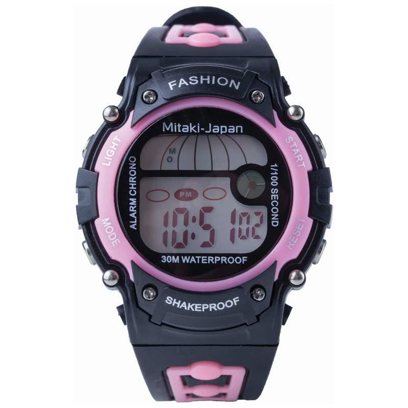 Ladies Digital Sport Watch Waterproof up to 30 Meters