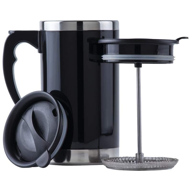 Wyndham House 21oz Double Wall Travel French Press Coffee/Tea Mug