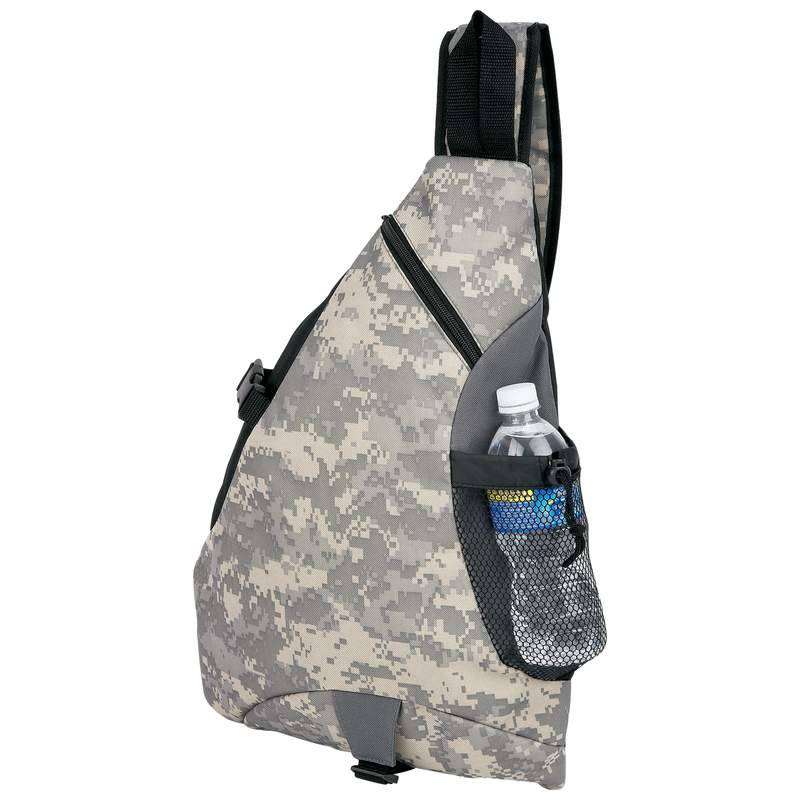 Extreme Pak 600D Poly Digital Camouflage Water Resistant Backpack