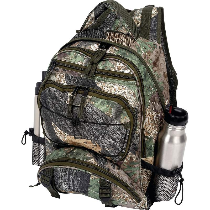 "Extreme Pak Invisible Camouflage Water Resistant 17"" Backpack"