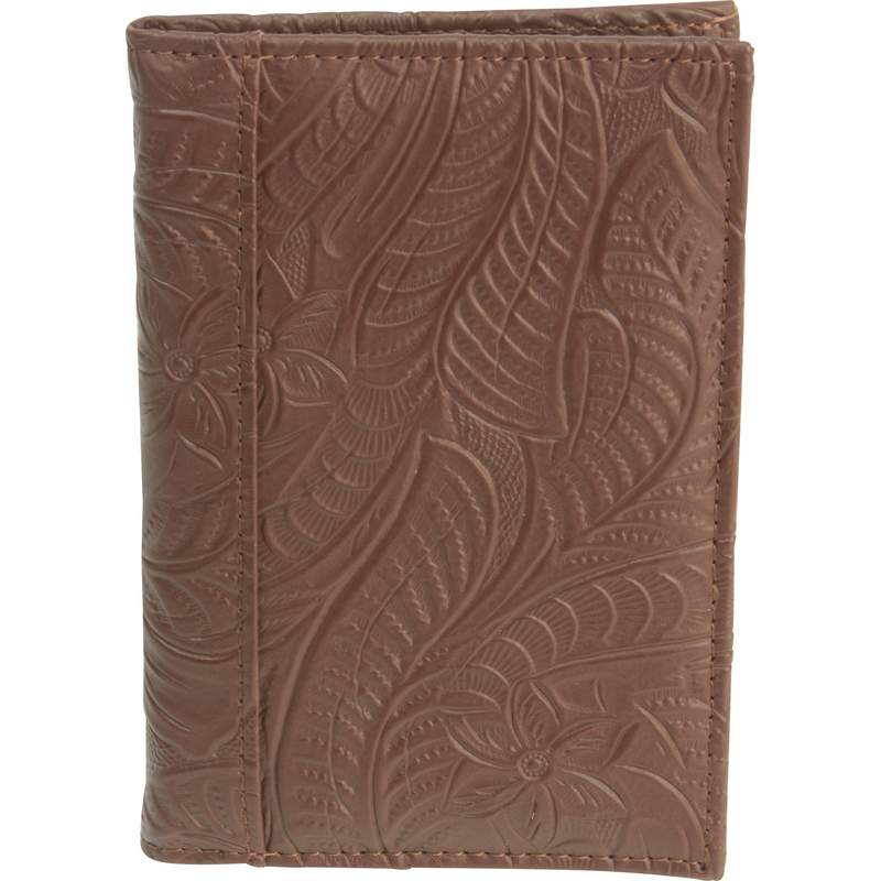Casual Outfitters Brown Passport Cover with Multiple Slots