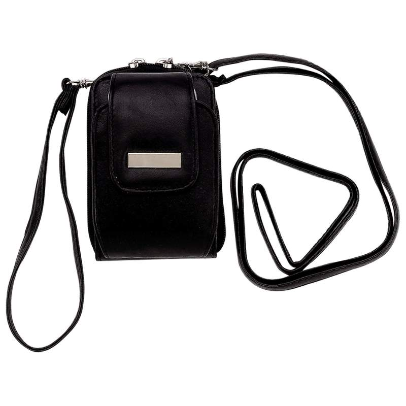 Embassy Solid Leather Wallet with Strap, Belt Loop, Phone Holder