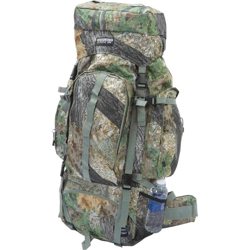 Extreme Pak Invisible Pattern Tree Camouflage Water Repellent Backpack