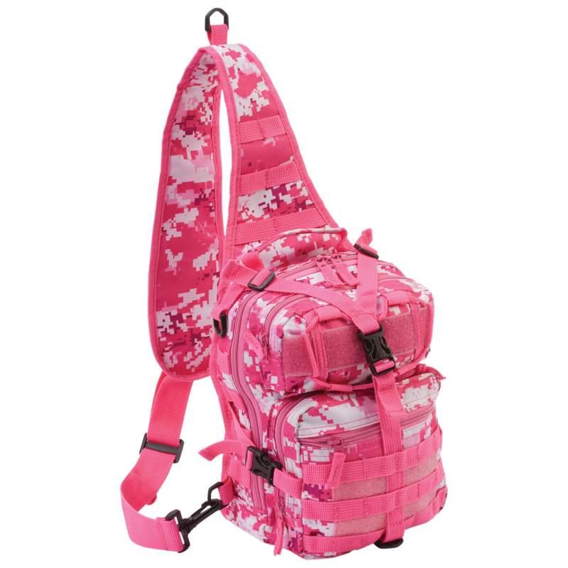 """Extreme Pak Pink Digital Camouflage 11"""" Sling Backpack"""