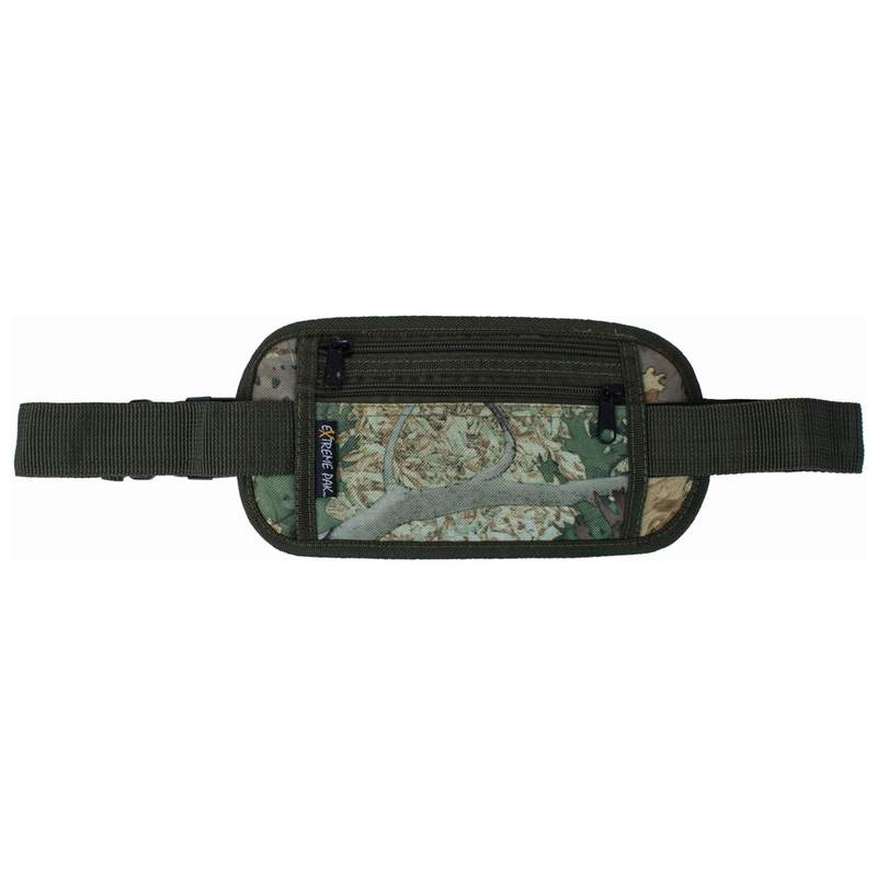 """Tree Camouflage Security Style Waist Bag with 43"""" Adjustable Strap"""