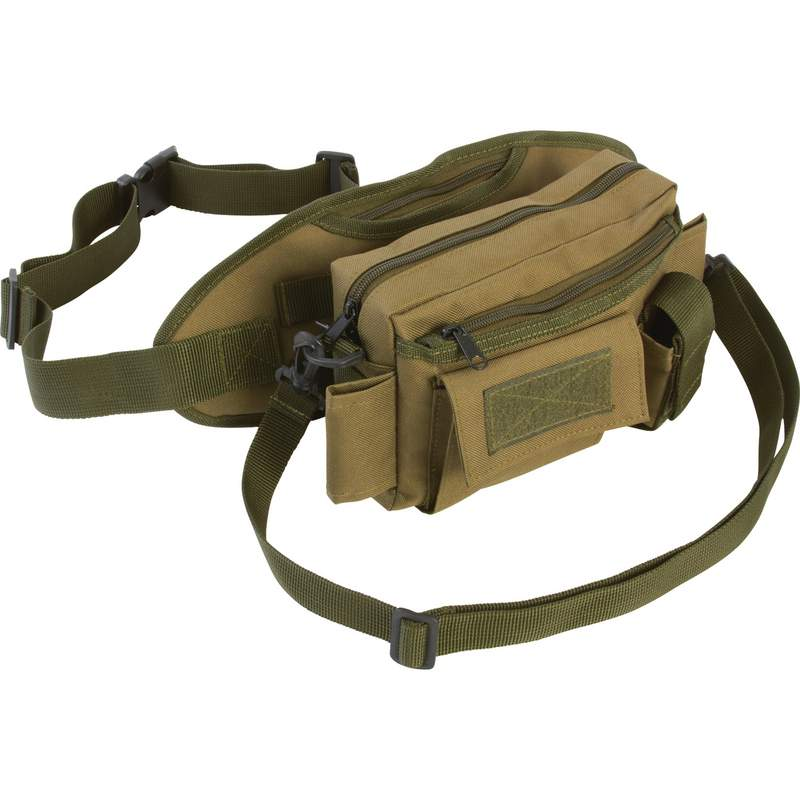 Extreme Pak Adjustable Utility Waist Bag with Outer Compartments