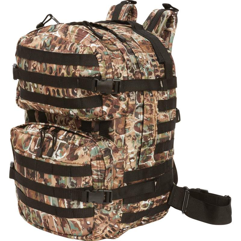 Bullgator Camouflage MOLLE Backpack with Multiple Compartments M1BP19 73f8a31765ef6