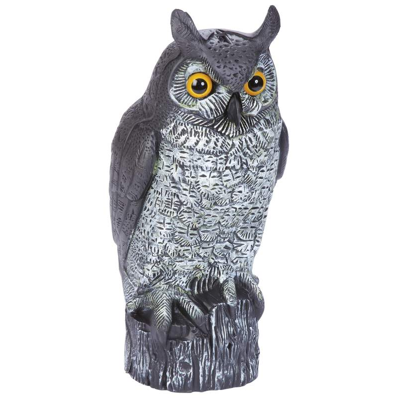 Classic Safari Decoy Owl with Filling Cap on Bottom